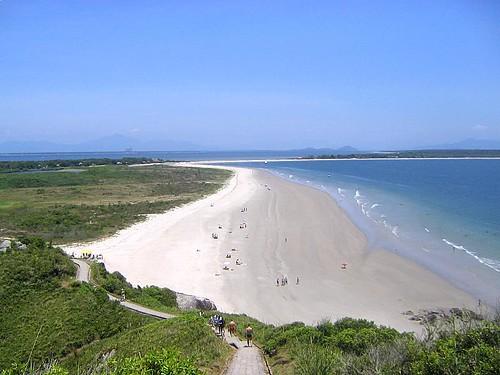 Una vista de Praia do Farol