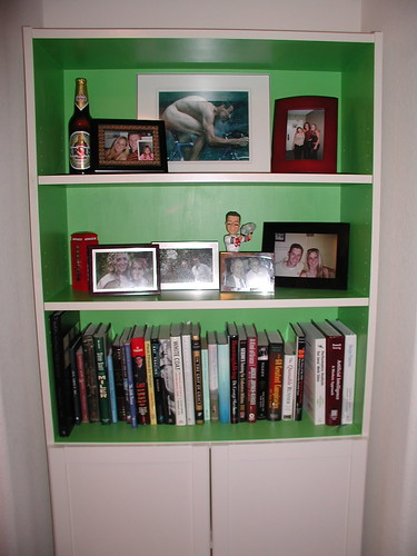 Kickass Green Bookcase by Matt Sidesinger.