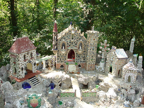 Hansl and Gretl Visit the Castle of the Fairies, Ave Maria Grotto, Cullman AL