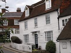 Clapboard houses Cranbrook