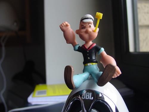 Popeye rocking