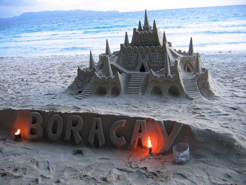 Intricate Sandcastle