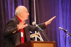 Keller's preaching hand gestures