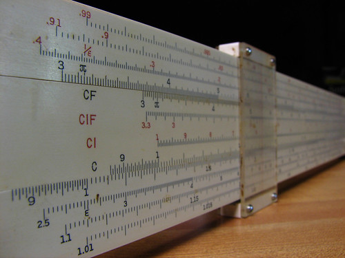 Slide Rule by Roger Smith
