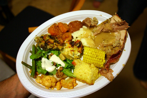 Look at this plate. Its freakin full.