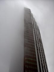Marathon Oil Tower in the Mist