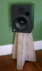 Concrete Speaker Tripod