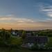 Solnedgång i Södra Mellby, Österlen.
