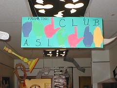 ASL hall sign