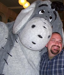 Scott Alan Miller and Eeyore