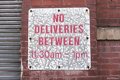 No Deliveries