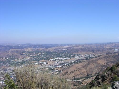 Looking Northeast from Ladyface Peak