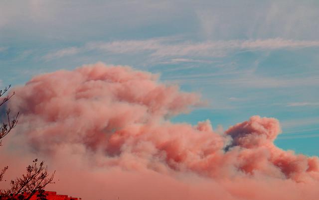 fuego en las colinas