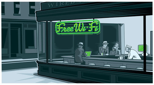 Wifi Diner, joshuaellingson.com