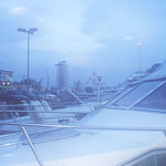 Abend am Yachthafen