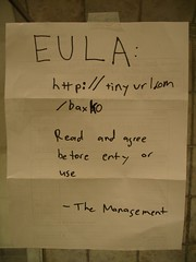 End User License Agreement - close-up