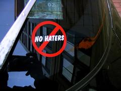 no no haters?