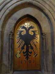 Rathause (town hall) interior door
