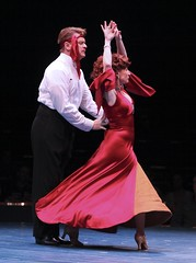 Vicki Lewis and John Scherer in Anything Goes at Music Circus July 26-31. Photo by Charr Crail.
