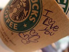 I love you Mr. Starbucks