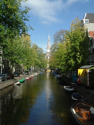 Amsterdam Canal Network