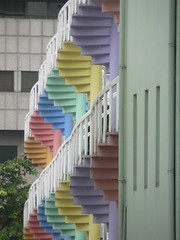Spiral staircases, Bugis