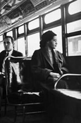 Rosa Parks Courtesy of Flickr