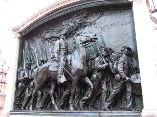 The Robert Gould Shaw Memorial by Michael Liu, on Flickr