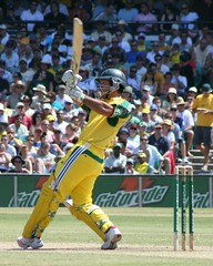 Ponting belts another six