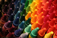 Crayons by Sir Fish / Emma