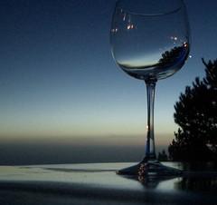 Beachside drinks