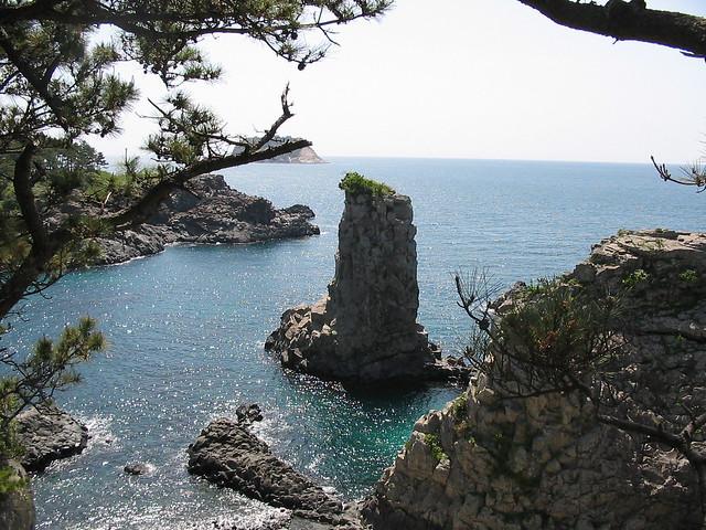 Oedolgae Rock, South Korea