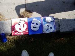Life Masks Drying
