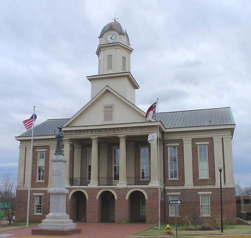 Confederate Memorial, Chatham County Courthouse, Pittsboro, North Carolina