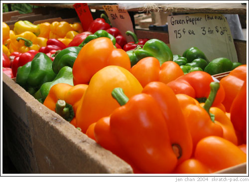 Peppers at the market (2)