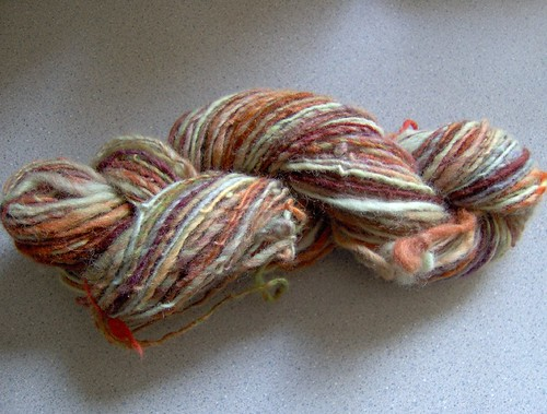 first colorful handspun