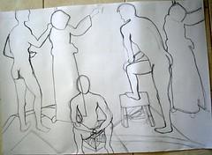 Basic Figure Drawing Class 2: #3