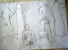 Basic Figure Drawing Class 2: #3