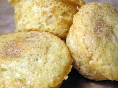 Apple Coffee Cake Muffins Close-Up