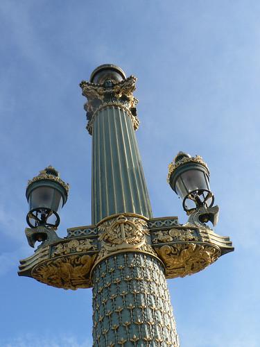 Place de la Concorde street light