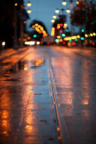 Wet Tracks by Thomas Hawk