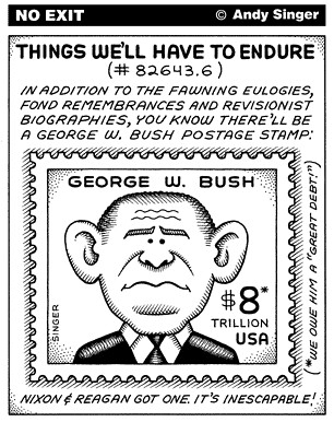 Andy Singer's No Exit: Things We'll Have to Endure