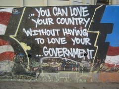 Libertarian Graffiti in Bolinas