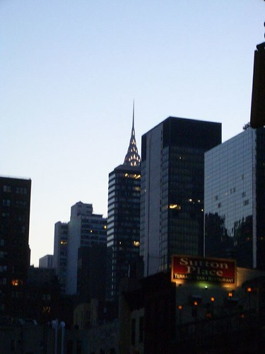 Chrysler Building At Dusk