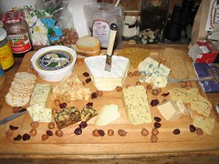 Christmas Day cheese board