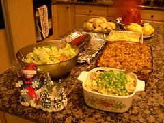 Christmas Dinner Meal