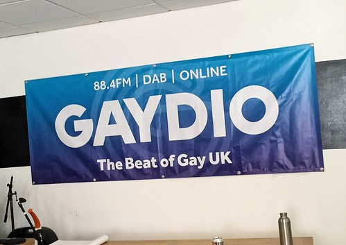 Today is all about...talking health at Gaydio