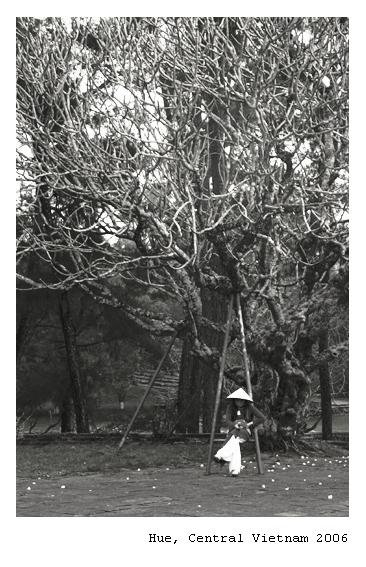 Viet Girl in Hue City
