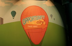 Opportunity knocks, then it gets a zip code