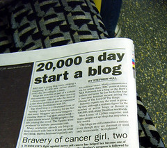 Britain Going Blog Crazy - Metro Article